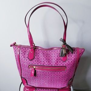 Authentic Coach Purse Pink and Purple